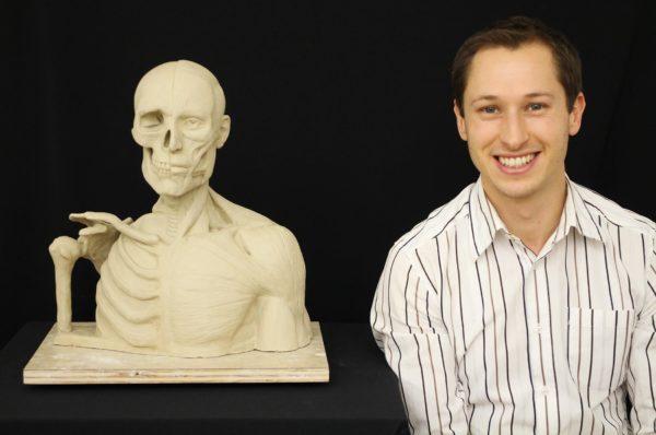 Sculpture Class Victoria - Graeme's Écorché