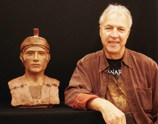Sculpture Class Victoria - Rick's Roman Guard